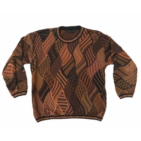Tundra Other - LG Vintage Tundra Coogi like Sweater